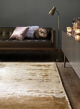 MODERNER Designer Teppich Devon 200 X 300 cm Gold