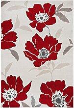 Moderner Designer Teppich floral Vogue Rug