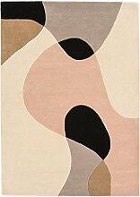 Moderner Designer Teppich Maiden MAX55 200X300 ARC PASTEL Pastel Multi Color 60% Wool - 40% Viscose
