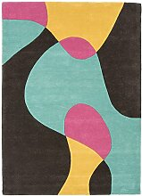 Moderner Designer Teppich MATRIX MAX52 160X230 ARC BUBBLEGUM Multi 60% Wool - 40% Viscose