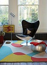 Moderner Designer Teppich MATRIX MAX53 120X170 ARC BRIGHT Beige 60% Wool - 40% Viscose