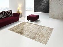 Moderner Designer Teppich Vintage 120 x170cm Beige