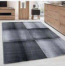 Moderner Designer Wohnzimmer Teppich Parma 9320