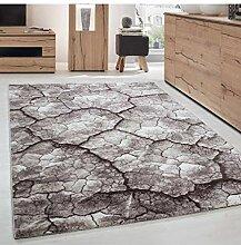 Moderner Designer Wohnzimmer Teppich Trockene Erde