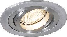 Moderner Einbaustrahler Rondoo 1 Aluminium