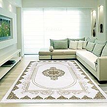 Moderner Europäisch-Orientalischer Teppich Aegea (120 cm x 170 cm, Moccan Square)