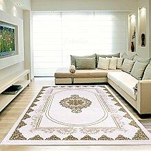 Moderner Europäisch-Orientalischer Teppich Aegea (80 cm x 300 cm, Golden Square)