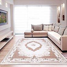 Moderner Europäisch-Orientalischer Teppich Aegea / Alpina (160 cm x 230 cm, Ellipsis Pink)