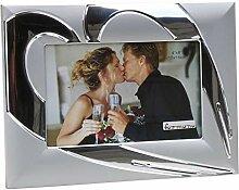 Moderner Fotorahmen Bilderrahmen Herz aus
