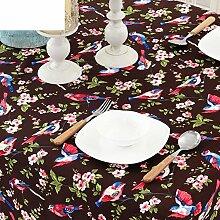 Moderner garten tisch tuch/stoff-tischdecke/tee tischdecke/bedeckung-tuch-D 140x180cm(55x71inch)