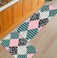 Moderner geometrischer Bereich Teppich waschbarer