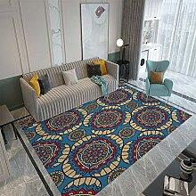 Moderner Heimteppich Zotteliger Teppich für
