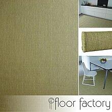 Moderner Indoor/Outdoor Teppich Essence grün 140x200 cm - pflegeleichter Flachgewebe Teppich für drinnen und draußen