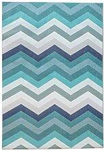 Moderner minimalistischer nordischer Teppich,