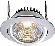 Moderner runder LED-Spot, 12 W, Einbauleuchte, 95