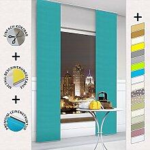 Moderner Schiebevorhang, Flächenvorhang,