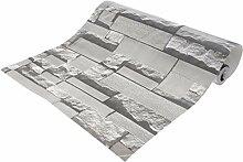 Moderner Stil 3D Steinoptik Fototapete Wandtapete