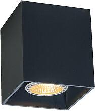 Moderner Strahler schwarz - Qubo 1