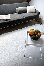 Moderner Teppich Delight weiß 120x170cm - edler