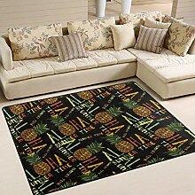 Moderner Teppich für drinnen und draußen