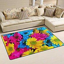 Moderner Teppich für Innen und Außen Fußmatte