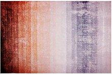 Moderner Teppich Mit Farbverlauf, Weiches Plüsch