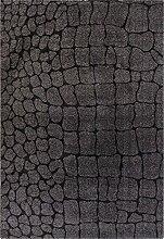 Moderner Teppich Plateno Safari Schwarz, Größe Auswählen:120 x 170 cm