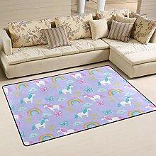 Moderner Teppich Teppich für Innen und Außen