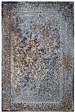Moderner Teppich Vintage my Milano 574 blau,