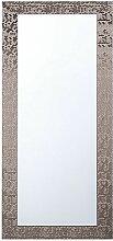 Moderner Wandspiegel Braun 50 x 130 cm Rechteckig