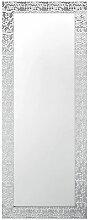 Moderner Wandspiegel Silber 50 x 130 cm Rechteckig