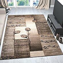 Moderner Wohnzimmer Teppich Naturfarben Beige