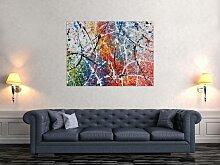 Modernes Abstraktes Acrylbild in XXL Moderne Kunst