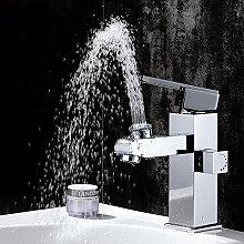 Modernes Badezimmer Waschbecken wasserhahn Kupfer Einloch Toilette WC-Armatur Wasserhahn warmes und kaltes Mixer