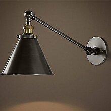 Modernes Bügeln Sie Wandlampe kreatives