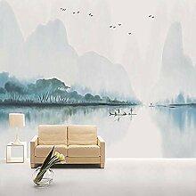 Modernes chinesisches minimalistisches Wohnzimmer