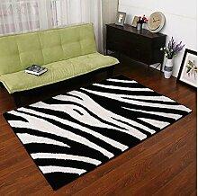 Modernes einfaches Wohnzimmer Kaffeetisch Teppich Schlafzimmer Voller Boden Nachttisch Teppich Teppich Sofa Muster Multi-Muster Verschlüsselung Dick Teppich Kann individuell angepasst werden ( farbe : A3 , größe : 140*200CM )