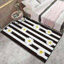 Modernes geometrisches Muster Teppich Teppich Pad