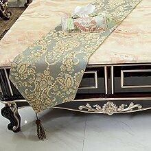 Modernes gewebe,four seasons tea-table-flag/moderne einfach,chinesische bett-flagge-A 32x180cm(13x71inch)