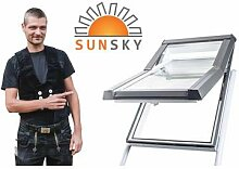 """Modernes Kunststoff-Dachfenster """"SunSky"""" mit"""
