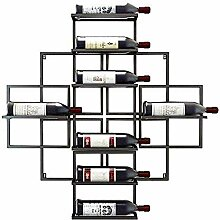 Modernes Metall Weinregal Lagerung Weinhalter