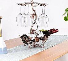 Modernes Minimalist Weinglas Rack-Weinregal