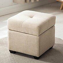 Modernes minimalistisches Gewebe mit faltbarem Speicher-Sofa-Hocker Ändern Sie den Schemel, zum des Hocker-Bank-Sofashocker zu tragen (Farbe wahlweise freigestellt) ( farbe : #5-40CM )