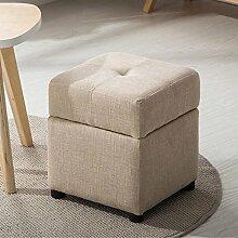 Modernes minimalistisches Gewebe mit faltbarem Speicher-Sofa-Hocker Ändern Sie den Schemel, zum des Hocker-Bank-Sofashocker zu tragen (Farbe wahlweise freigestellt) ( farbe : #5-30CM )