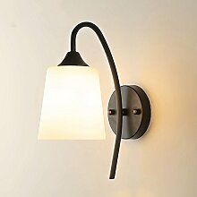 Modernes, minimalistisches kreative Wand Lampe am Bett Schlafzimmer energiesparende LED Dekorative Wandleuchte Flur Balkon leuchte