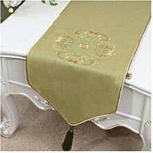 Modernes Minimalistisches Tischflagentuch, Neues