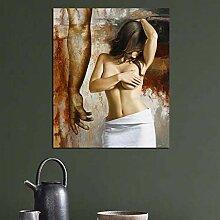 Modernes Plakat Nackte Frau Bild Wandplakat