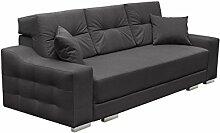 Modernes Schlafsofa Cypis Sofa mit Bettkasten und Schlaffunktion, Bettsofa, Design Schlafcouch, Wohnlandschaft, Polstersofa (Novel 06)