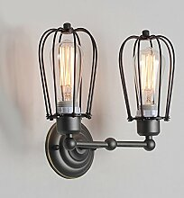 Modernes Wandleuchten Doppelkopf Wandlampe