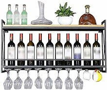 Modernes Weinregal aus Wein Weinflaschenhalter
